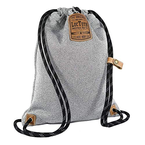Loctote Flak Sack II Grey - die schnittfeste diebstahlsichere Tasche (Security Bag - Safety Bag)