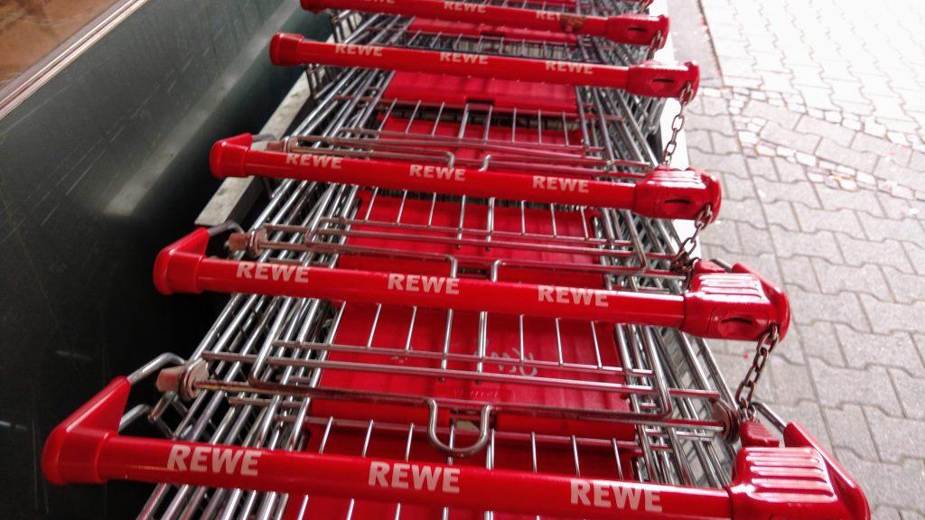 Frontlader-Einkaufswagen