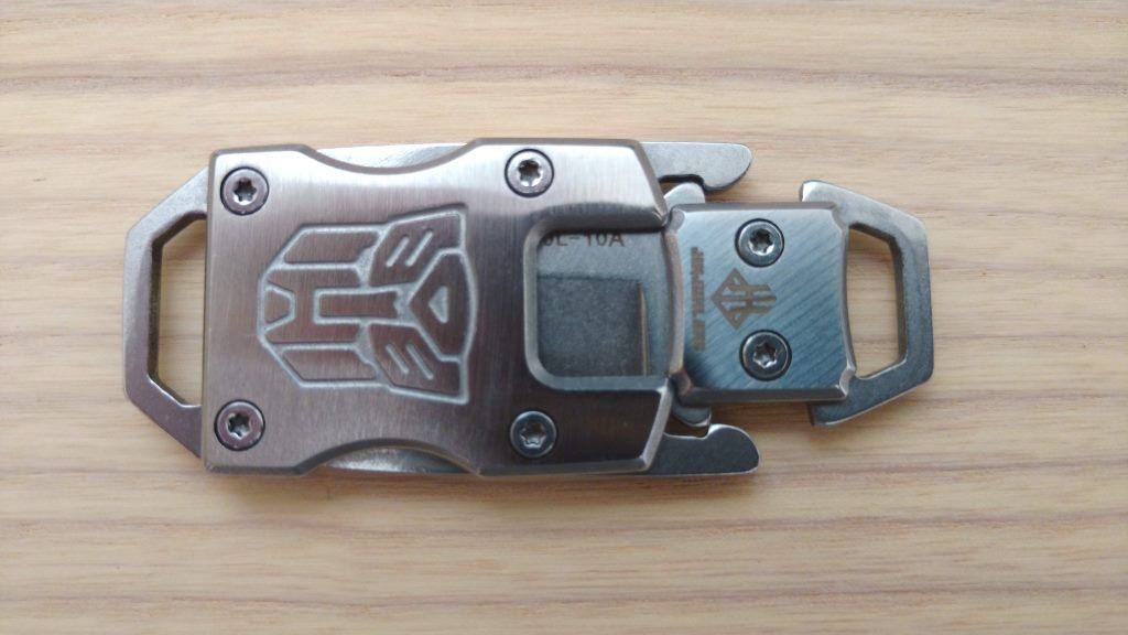 Mini EDC Messer geschlossen